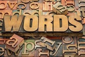 words string
