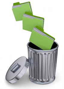 Folder in the Trash